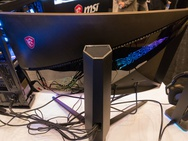MSI Optix-monitor met rgb-leds