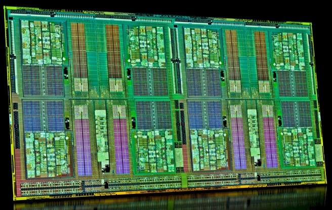 AMD Opteron 6200-serie die