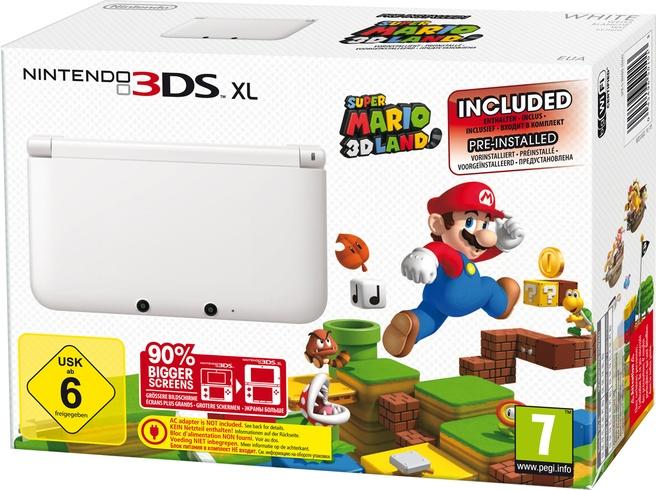Nintendo DS 3DS XL + Super Mario 3D Land Wit