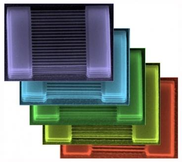 Laagjes silicium nanodraad-transistors