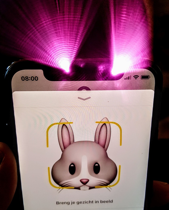 Infraroodsysteem iPhone X