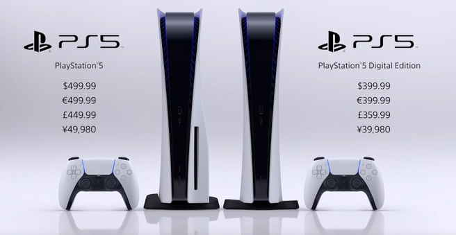 PlayStation 5-prijzen