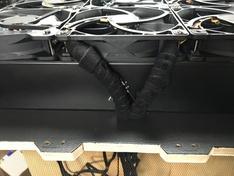 Rad 1080 - kabels naar achterkant