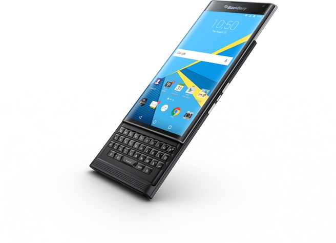 BlackBerry Priv Qwerty Zwart