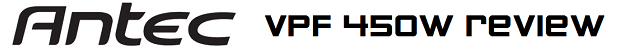 Antec VPF 450W review