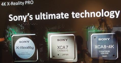 Sony 4K X-Reality Pro