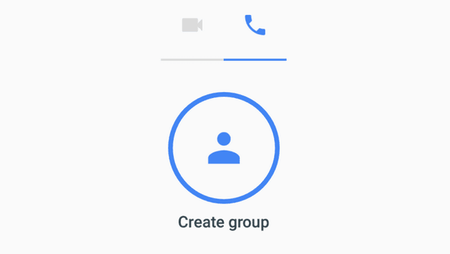Google Duo create group v30