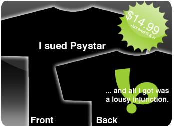 Psystar t-shirt