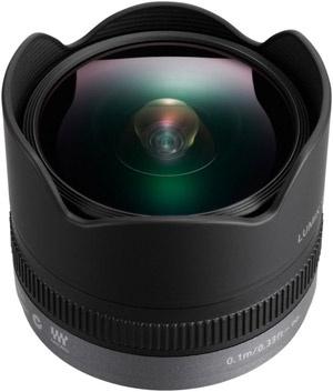 Panasonic Lumix G 8mm fisheye f/3.5