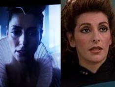 Bjayzl (ST:Picard) en Troi (ST:TNG)