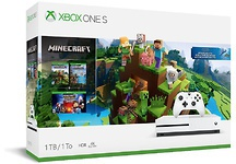 Microsoft Xbox One S 1TB + MIinecraft Wit