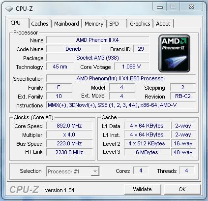 CPU-Z Idle