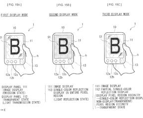 Sony-patent: dubbelzijdig transparant