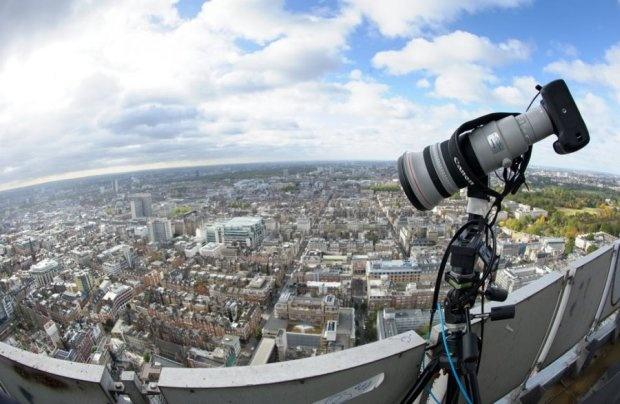 Londen 360-gigapixelfoto