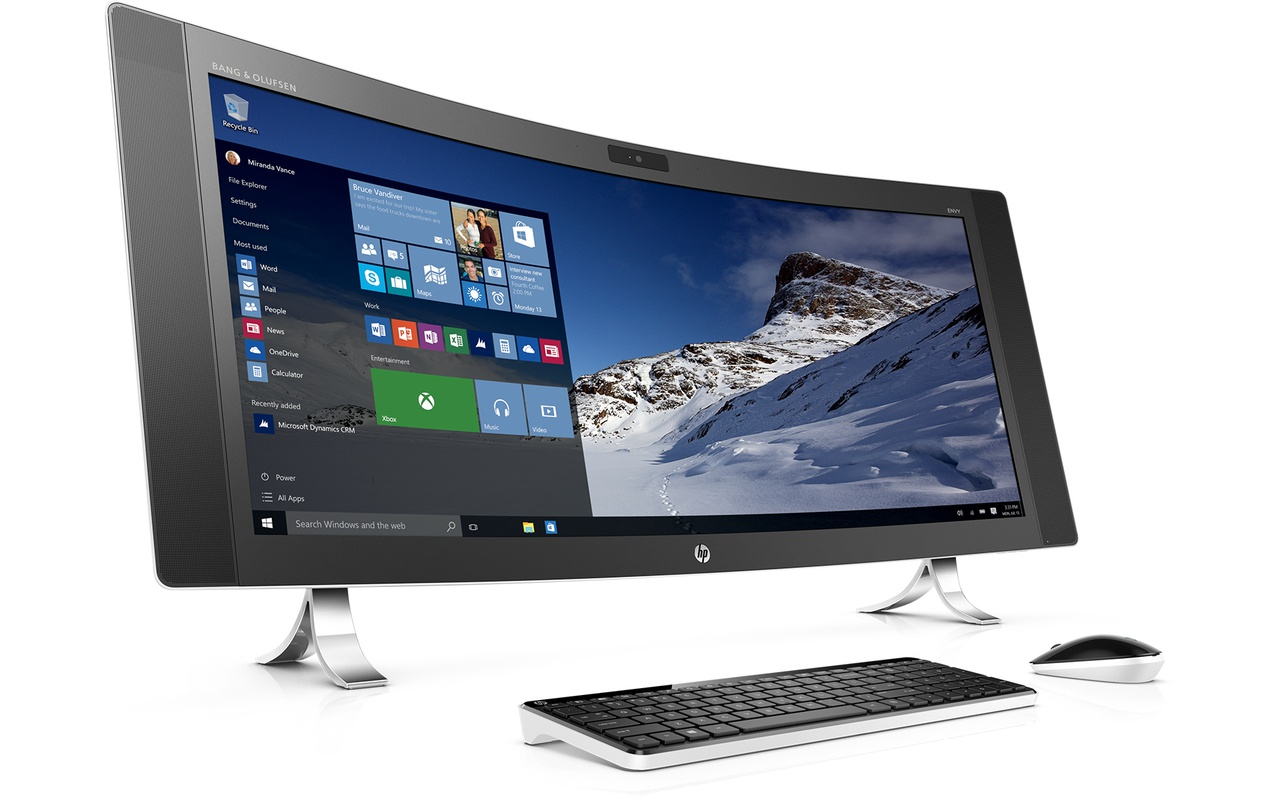 Hp envy curved 34a090nd