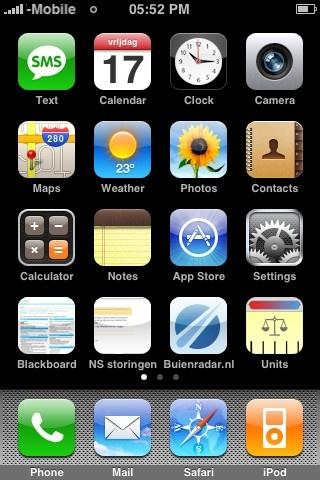 Iphone Startscherm