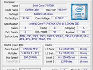 Cpu-z i7-8700K