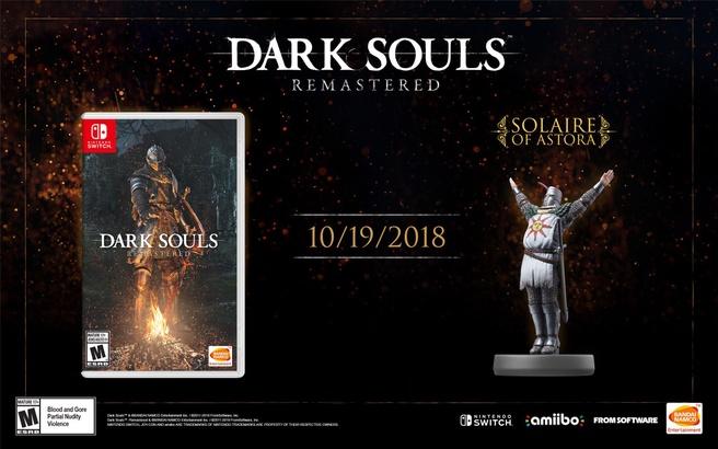 Dark Soulds: Remastered voor Nintendo Switch