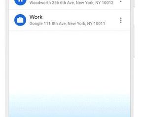 Google Maps Live View en Trips
