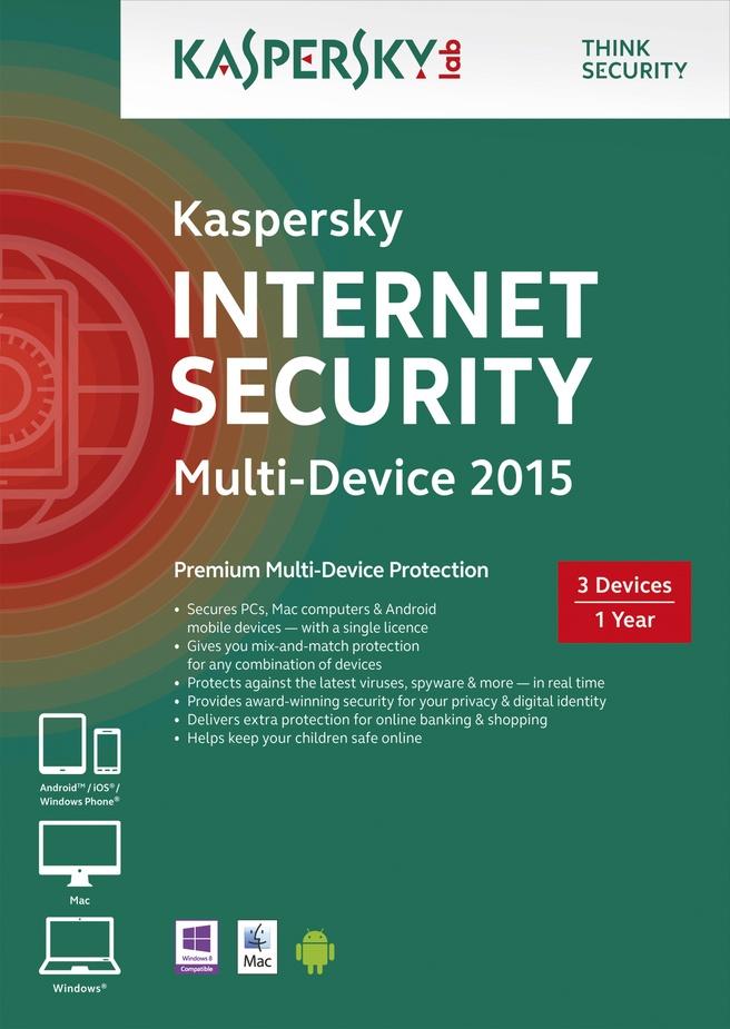 Kaspersky Lab Internet Security Multi-Device 2015