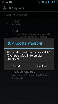 Android OTA Update Center