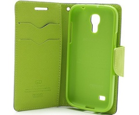 Mercury Fancy Diary WalletCase - Samsung Galaxy S4 Mini - Blauw Blauw