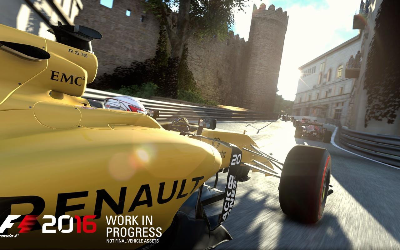 F1 2016 eerste screenshots