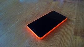 Voorkant van de Lumia 640