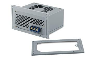 Mini-box M4-ATX Enclosure - PS2 size - incl fan