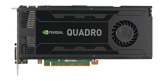 HP NVIDIA Quadro K4000 PCI-E Graphics Adapter