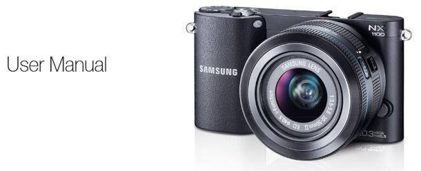 Samsung NX1100 handleiding online gezet 610px