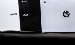 Drie Chromebooks in het strijdperk