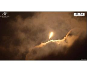 Vega raket lancering