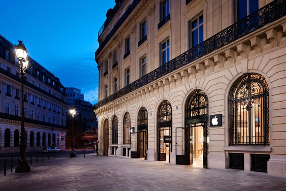 Apple Store Opera Parijs
