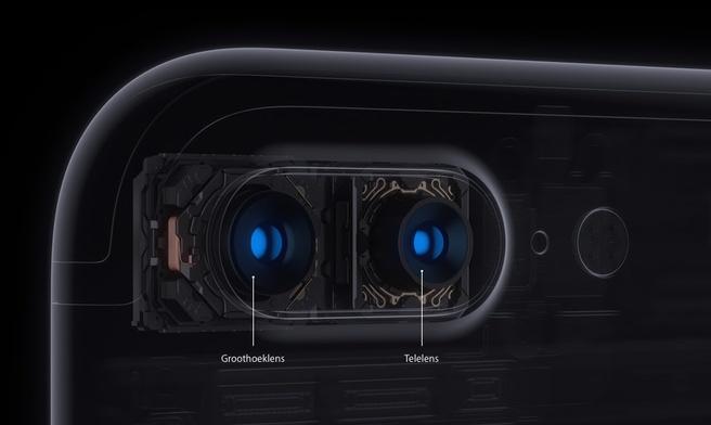 iPhone 7 Plus camera's