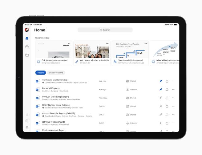 Microsoft Office voor iPadOS