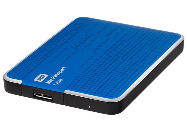 Western Digital My Passport Ultra Blauw, 1TB