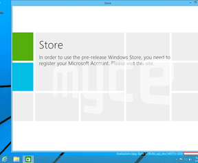 Screenshot interne build Windows Threshold