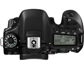Canon EOS 80D body Zwart