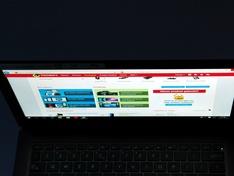 laptopscherm boven