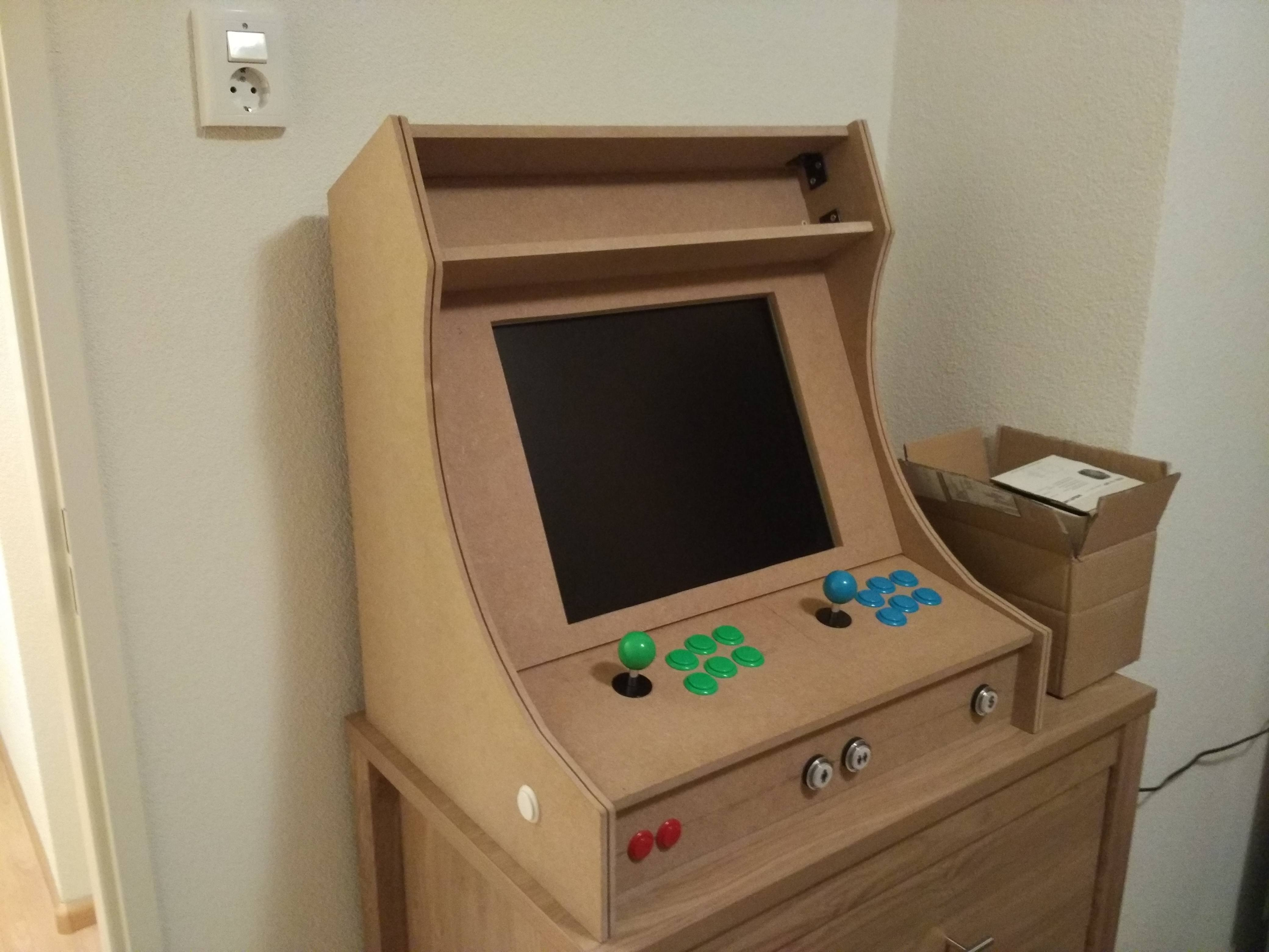 BigBox for low powerd PC in an Arcade Cabinet - Noobs - LaunchBox ...