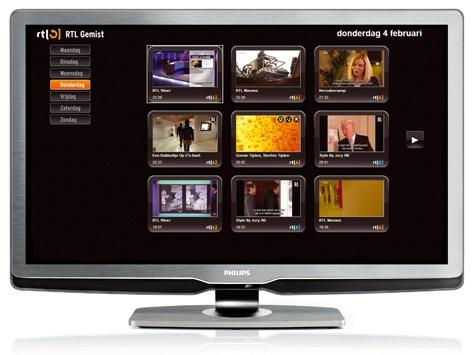 RTL Gemist Net TV Philips