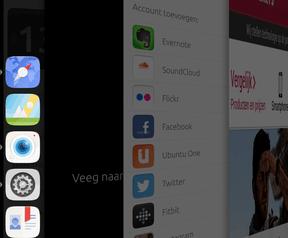 Screenshot Ubuntu op smartphone - Meizu MX4