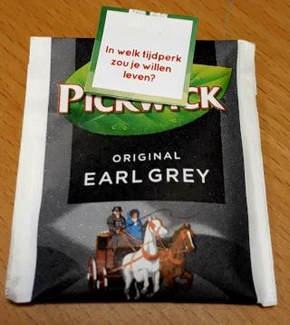 Earl Grey theezakje