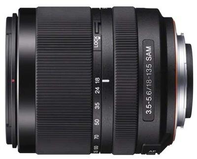 Sony 18-135mm SAM lens
