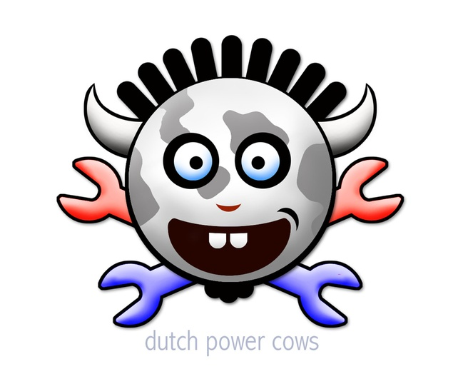 Dutch Power Cows logo (groot)