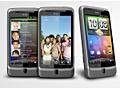 HTC Desire Z drie stuks