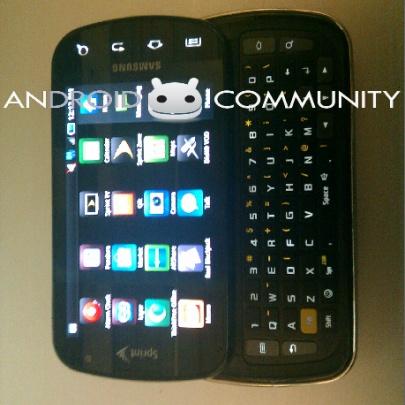 Samsung-slider met Android