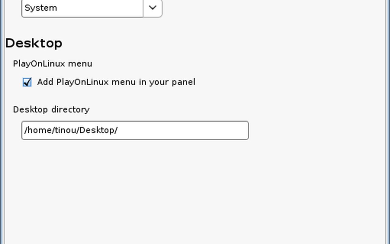 PlayOnLinux screenshot