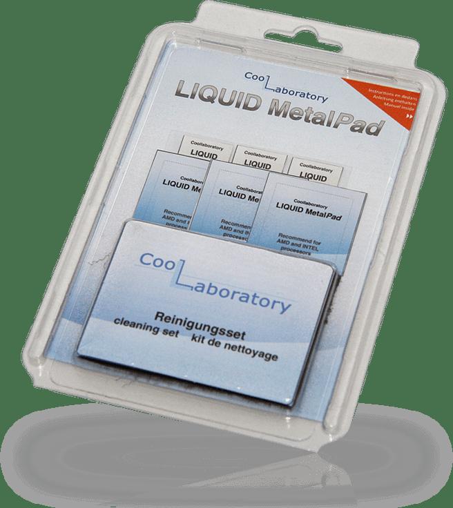 Coollaboratory Liquid Metal Pad GPU (3x) + GPU (3x) + Cleanset